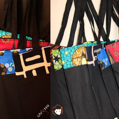 Tote Bag transformable©ChryssaKréations