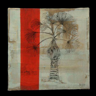 Le palmier ronier - 30x30