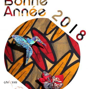 Vœux 2018 – Détails d'une création