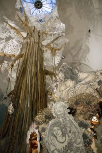2014_Swoon_Submerged_Motherlands_1-Signature_Image_600_900 - Brooklyn Museum Photograph