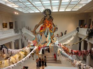 Thalassa -Swoon -2011. New Orleans Museum of Art.