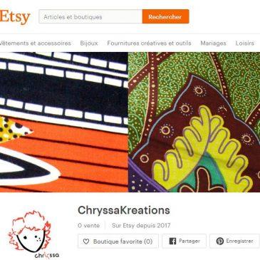Boutique Etsy, en route vers l'ouverture !