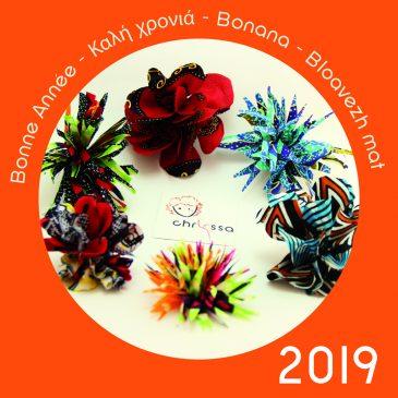 Nouvelle année / Carte de Voeux 2019