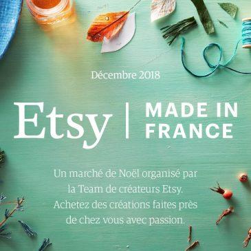 Marché de Noël Créateurs ETSY MONTAUBAN  8 et 9 Décembre